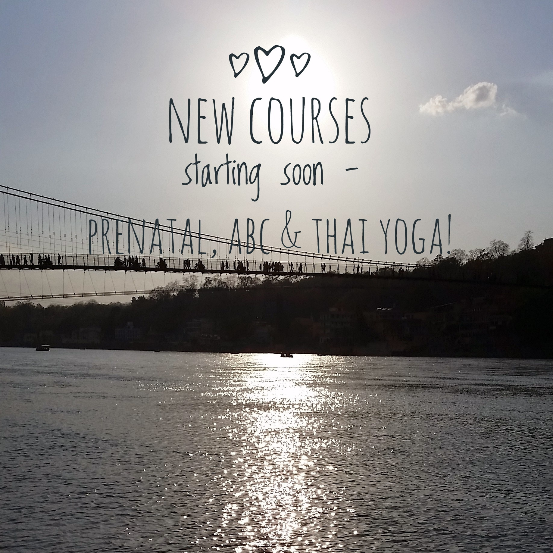 New courses!