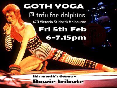First Ever Goth Yoga Feb 2016 in Melbourne