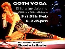 First Ever Goth Yoga Feb 2016 in Melbourne