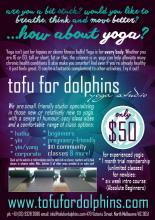 Tofu for Dolphins Poster